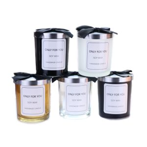 Classic glass candle jar SL-CJ002