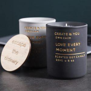 Concrete candle jar SL-CJ006